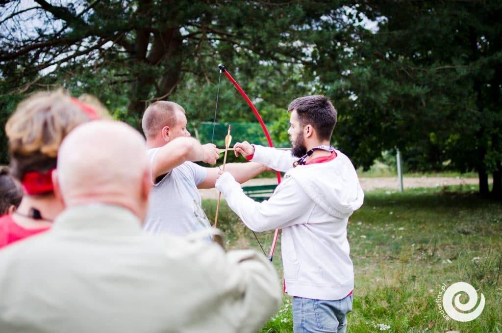 Strzelanie z łuku Warszawa, Łódź, Poznań